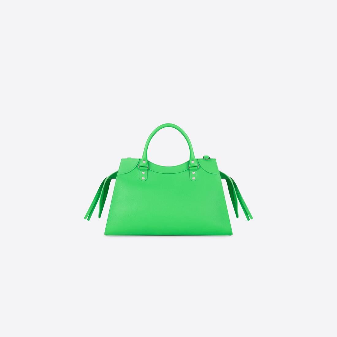 Display zoomed version of neo classic medium top handle bag 2
