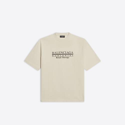 retail therapy medium fit t-shirt