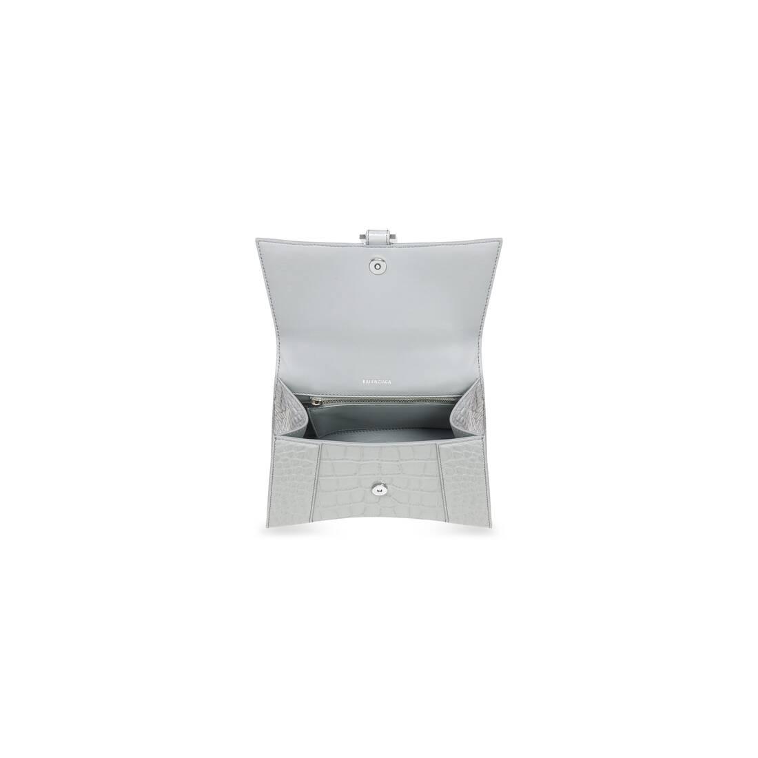 Display zoomed version of hourglass kleine top handle bag 5