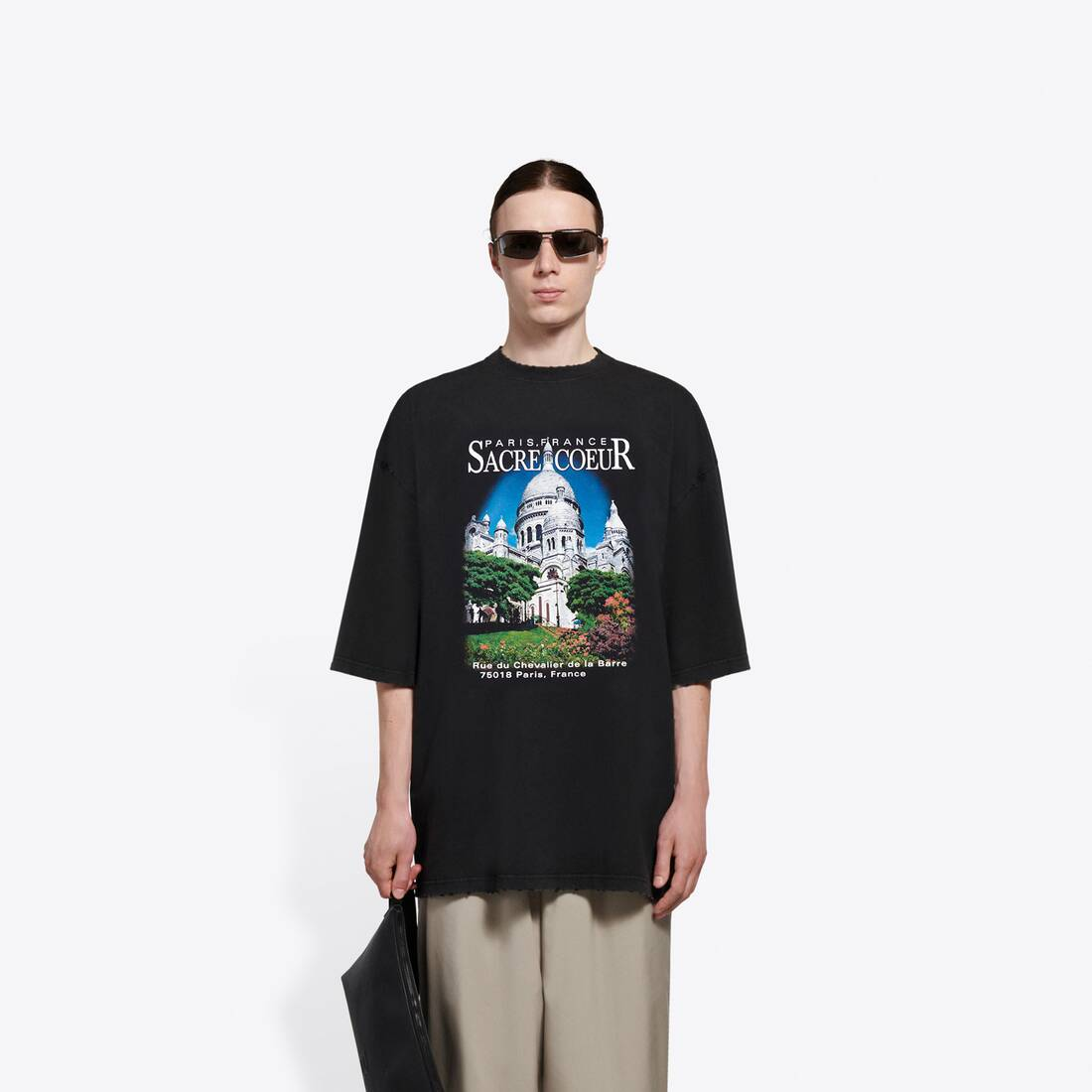 Display zoomed version of sacré cœur xl t-shirt 3