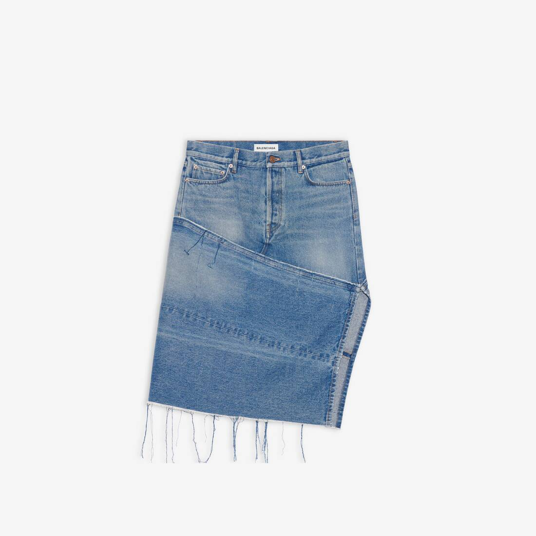 Display zoomed version of 5 pockets slit skirt 1