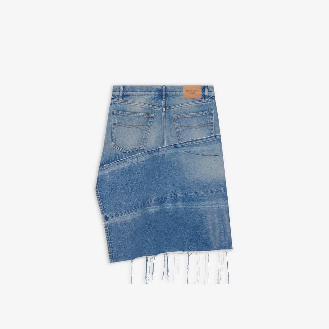 Display zoomed version of 5 pockets slit skirt 2