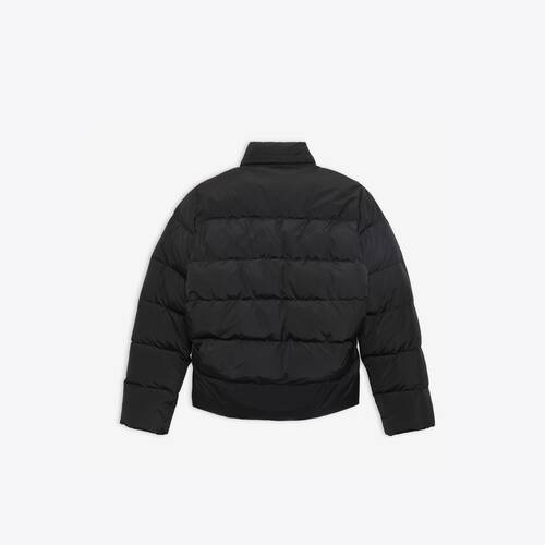 c-shape puffer jacket