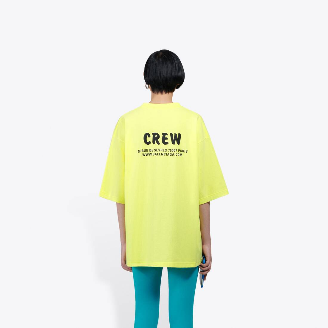 Display zoomed version of crew large fit t-shirt  5
