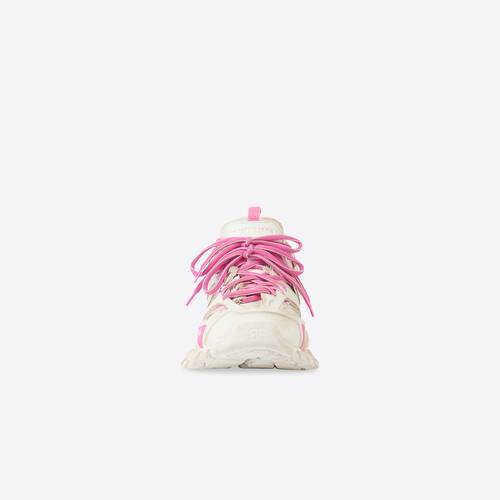 track sneaker worn out