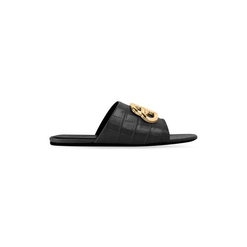 oval bb slide sandal