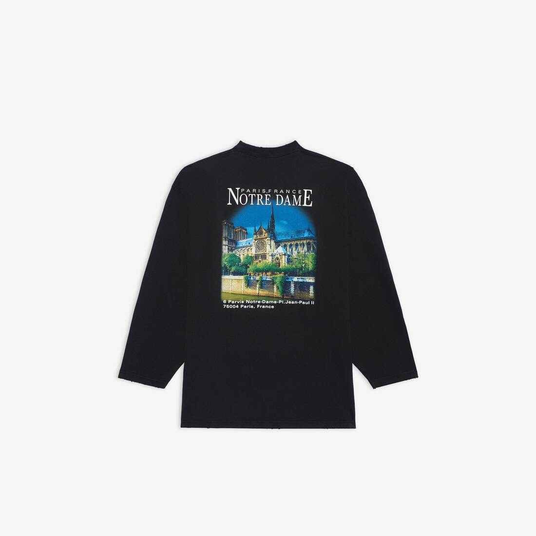 Display zoomed version of sacré cœur xl long sleeves t-shirt 2
