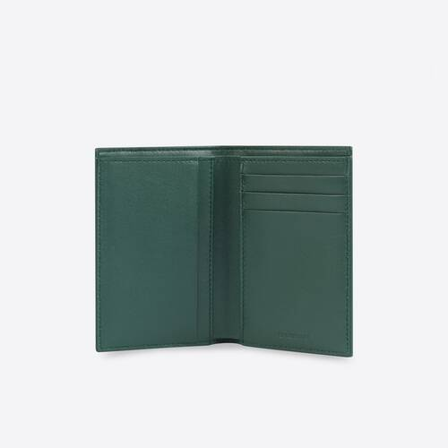 cash vertical bilfolded wallet
