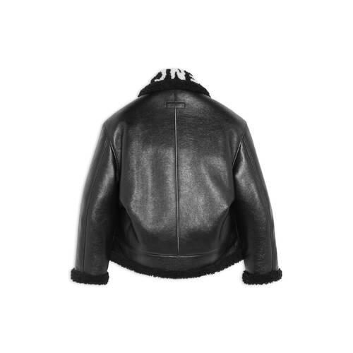 cocoon aviator jacket