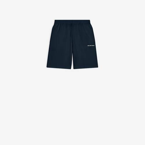 kids - balenciaga logo short pants