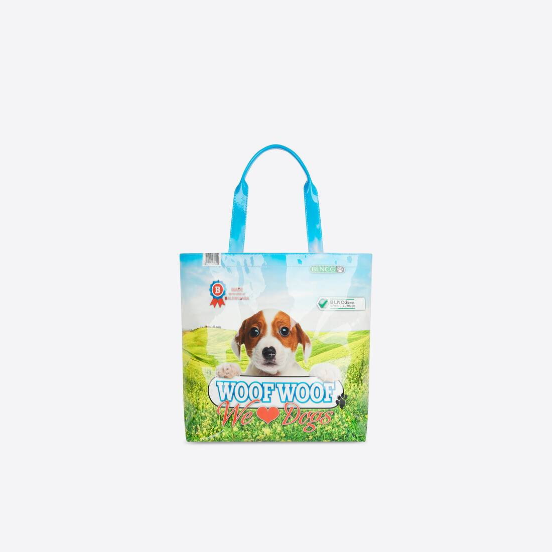 Display zoomed version of pet lover medium tote 1
