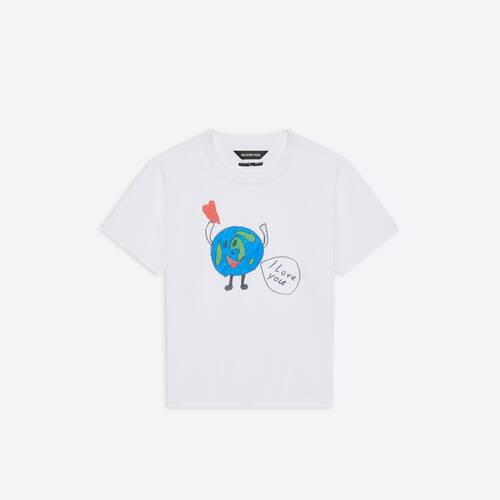 kids - love earth t-shirt