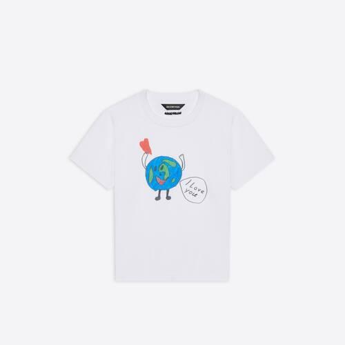 kids - love earth t-shirt