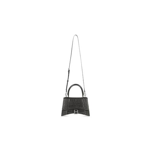 hourglass small top handle bag