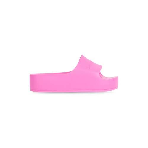 sandali chunky slide