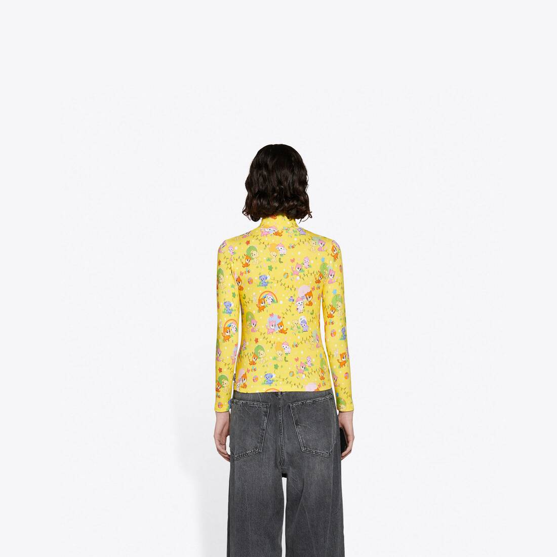 Display zoomed version of puppies and friends turtleneck stretch top 5