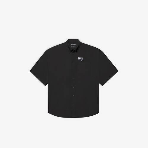 one size your logo here short sleeve shirt