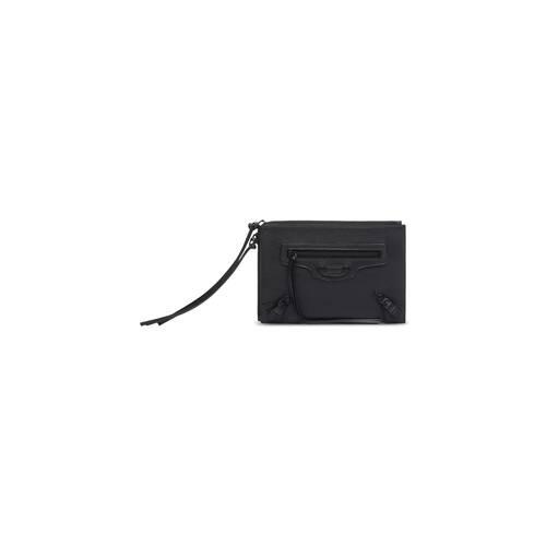 neo classic kleine pouch mit riemen