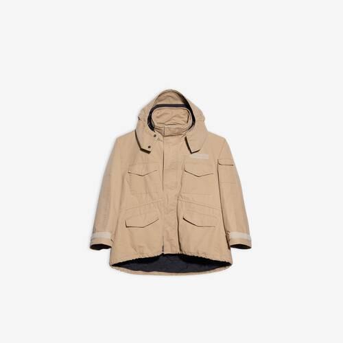 c-shape 밀리터리 재킷