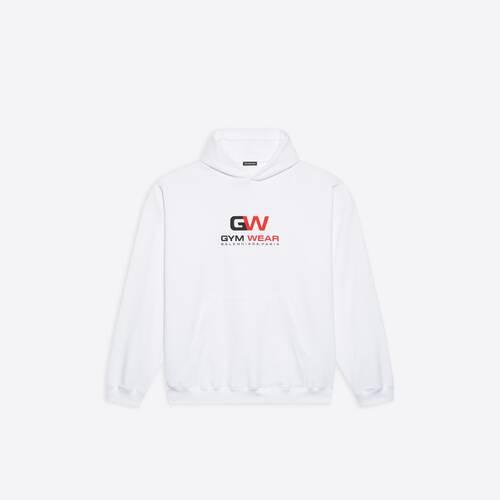 hoodie fit large gym wear