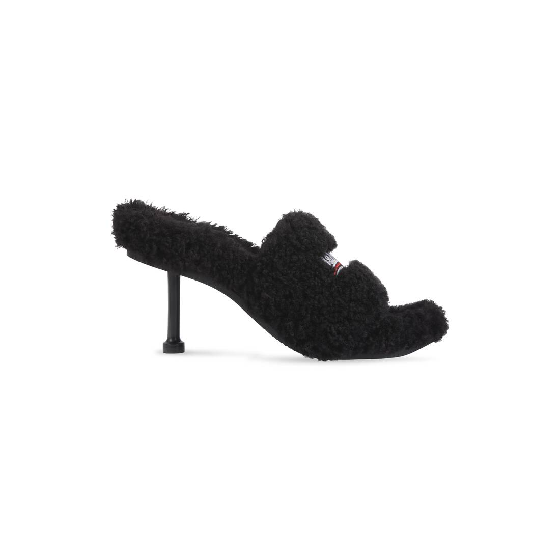 Display zoomed version of furry 80mm sandal 1