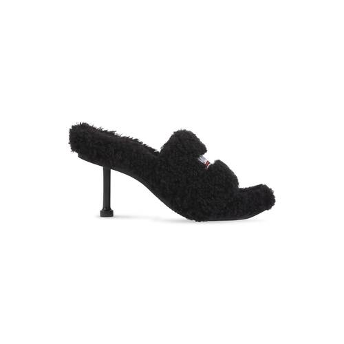 furry 80mm sandal