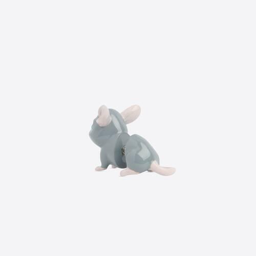 happy rat earring