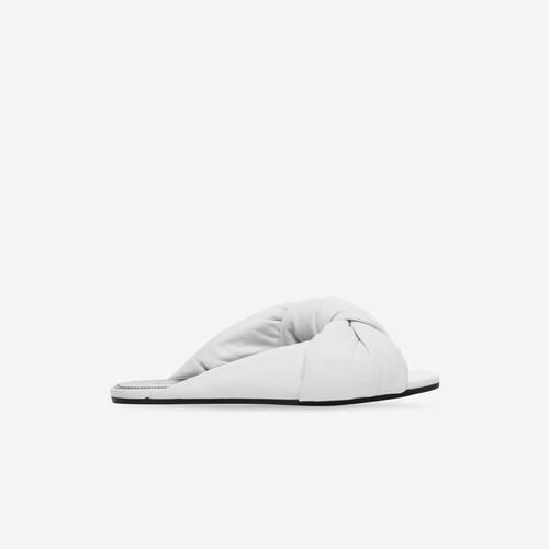 drapy flat sandal