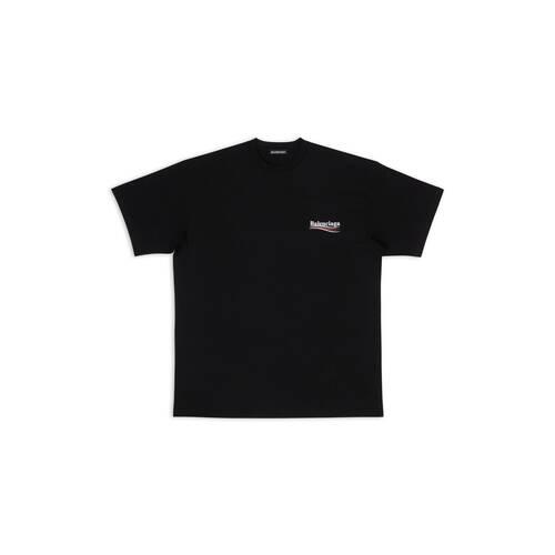 regular balenciaga ロゴプリント tシャツ