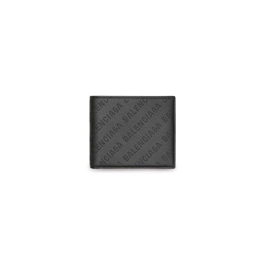 Display zoomed version of cash square folded coin wallet 1