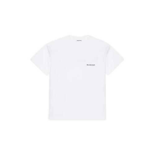 balenciaga large fit t-shirt