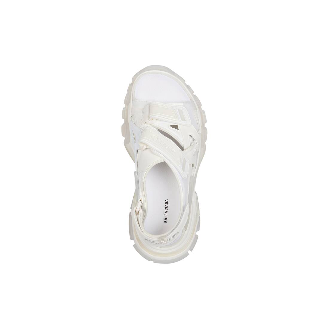 Display zoomed version of track clear sole sandal 5