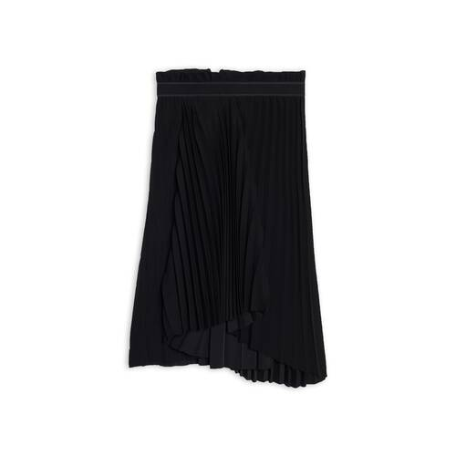 fancy pleated skirt