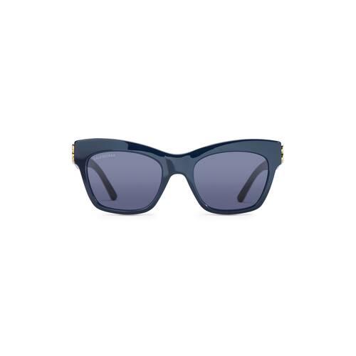 dynasty square sunglasses