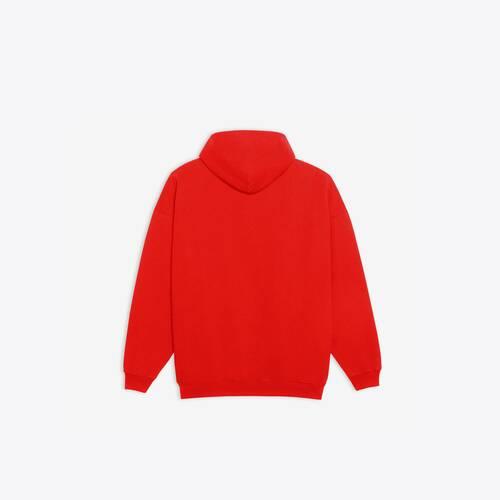 real balenciaga 1 large fit hoodie