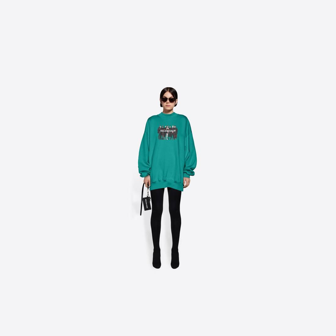 Display zoomed version of real balenciaga 2 crewneck sweater 6