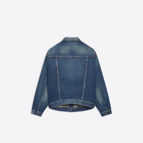 chest logo jacket