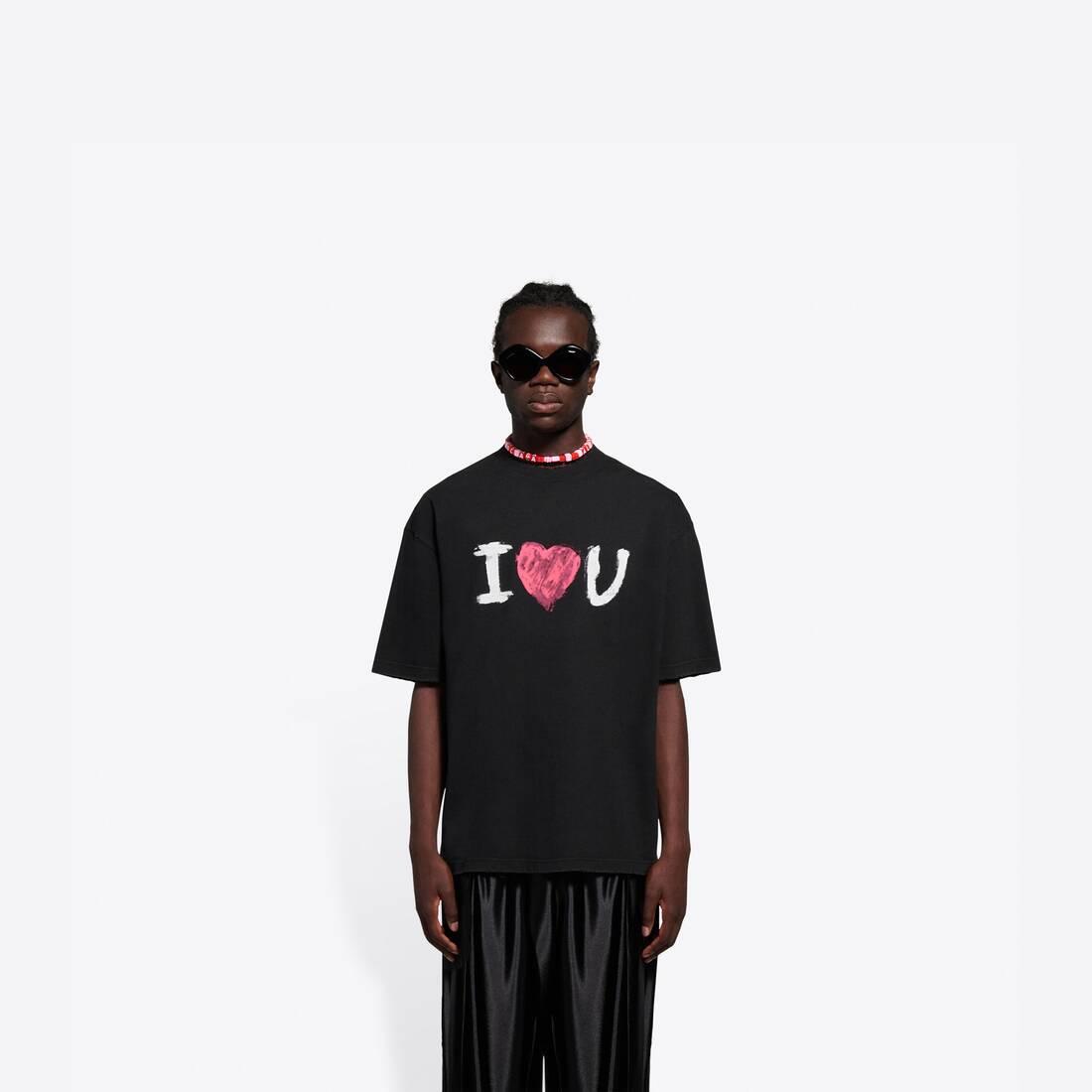 Display zoomed version of i love u medium fit t-shirt 3