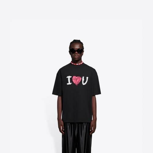 i love u medium fit t-shirt