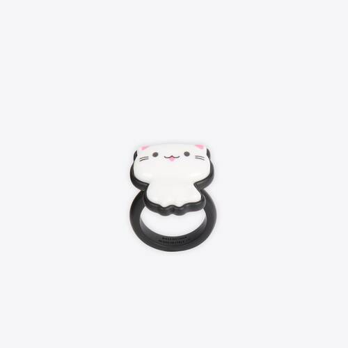 sticker cat ring