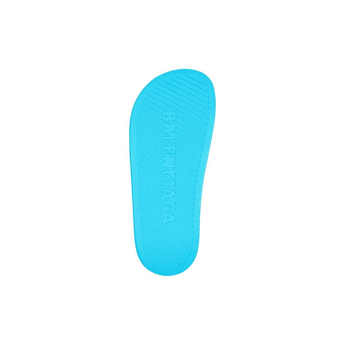 Display zoomed version of chunky slide sandal 4