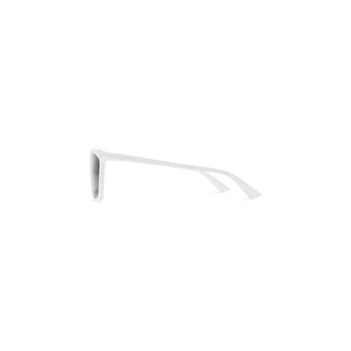 rim rectangle sunglasses adjusted fit