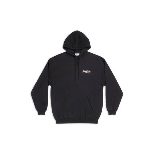 balenciaga print hoodie
