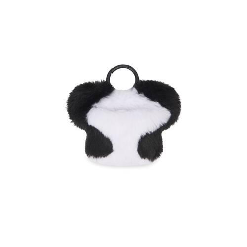 fluffy panda earpods-etui mit riemen