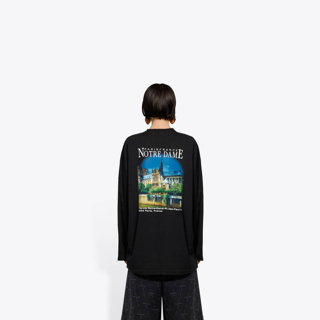 Display zoomed version of sacré cœur xl long sleeves t-shirt 5