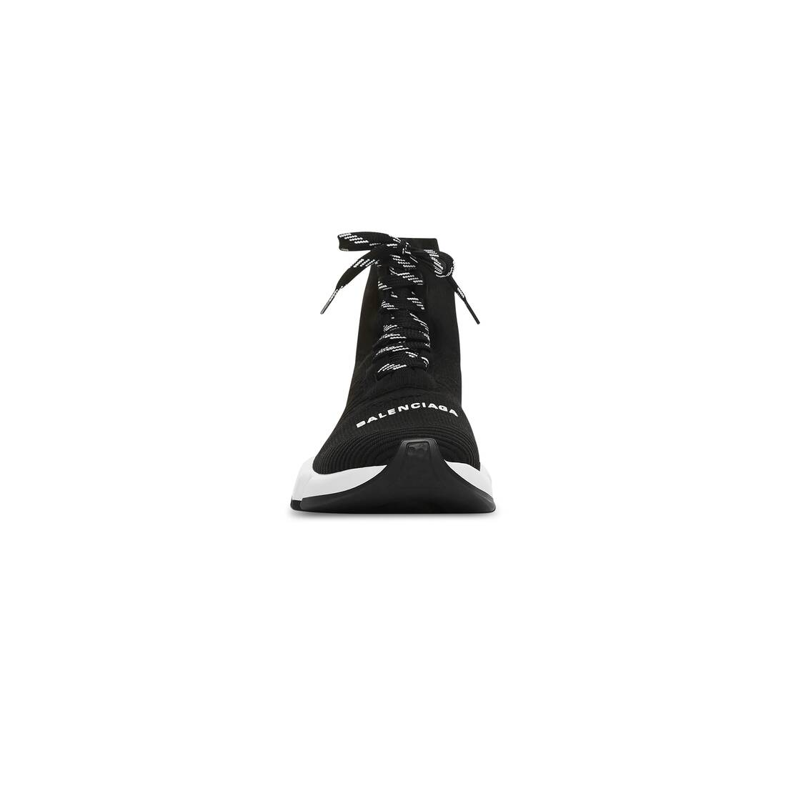 Display zoomed version of speed lace-up clear sole sneaker 3