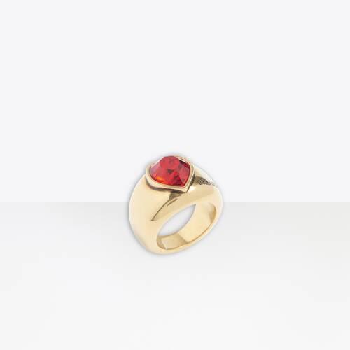 anillo heart