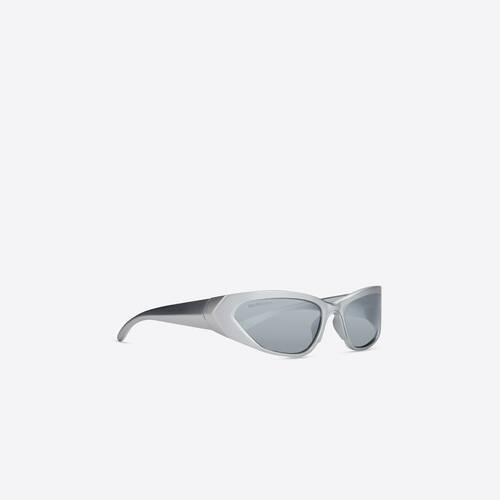 occhiali da sole metal rectangle