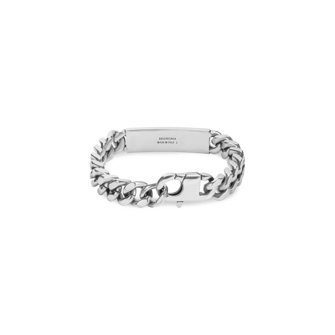 Display zoomed version of plate gourmette bracelet  2