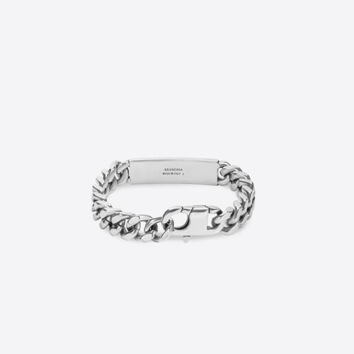 plate gourmette bracelet